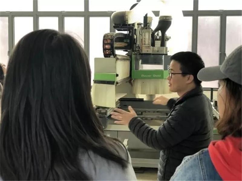 东莞市轻工业学校家居专业教学环境、前后端一体化实训基地