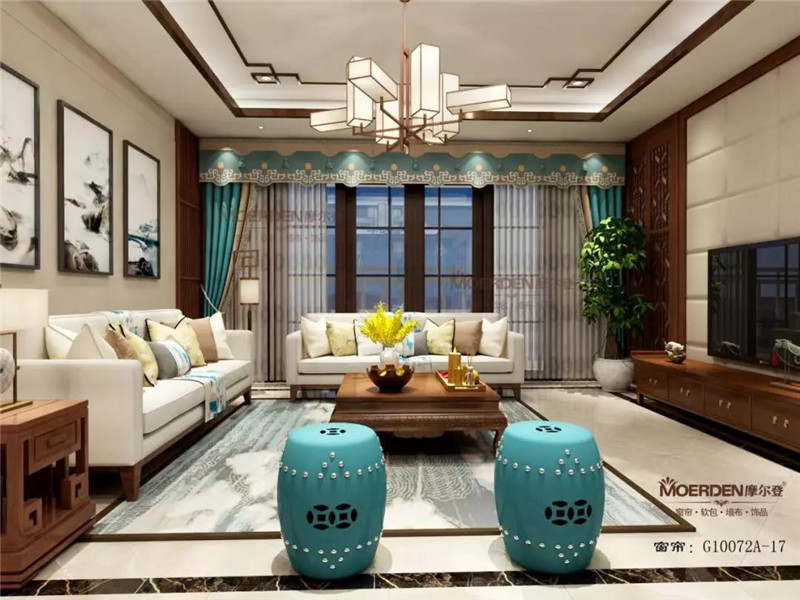摩尔登携手三维家提供整体家居软装高端定制服务